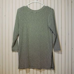 Striped 3/4 Sleeve Long
